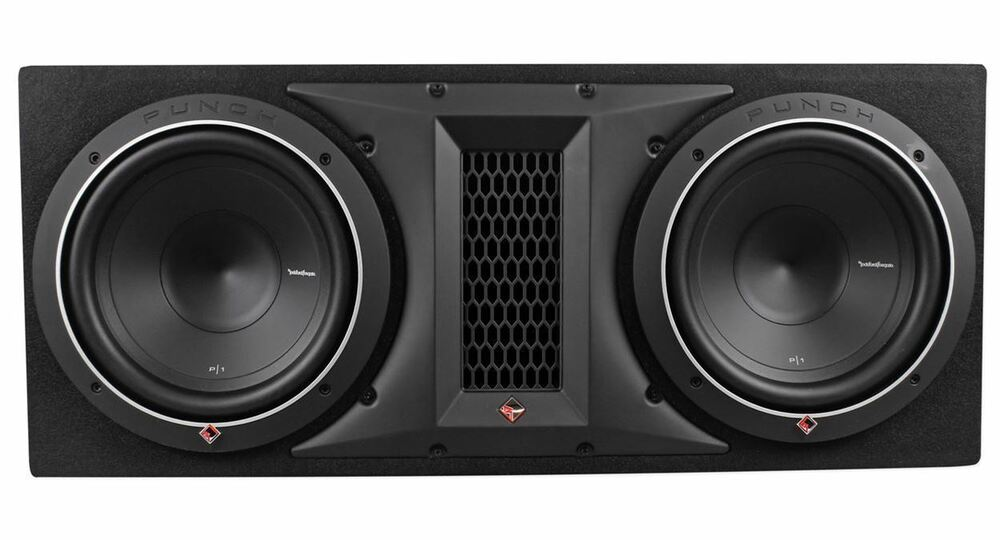 rockford fosgate punch p1 2x10 dual 10 1000w loaded. Black Bedroom Furniture Sets. Home Design Ideas
