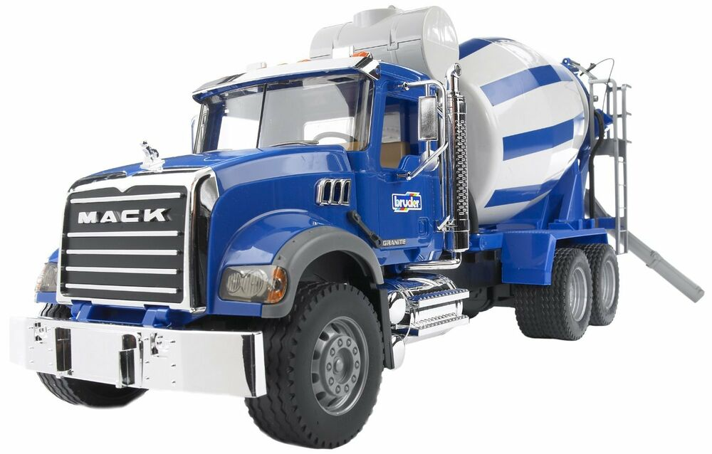 Mack Truck Cement Mixer : Bruder toys mack granite cement mixer truck kids