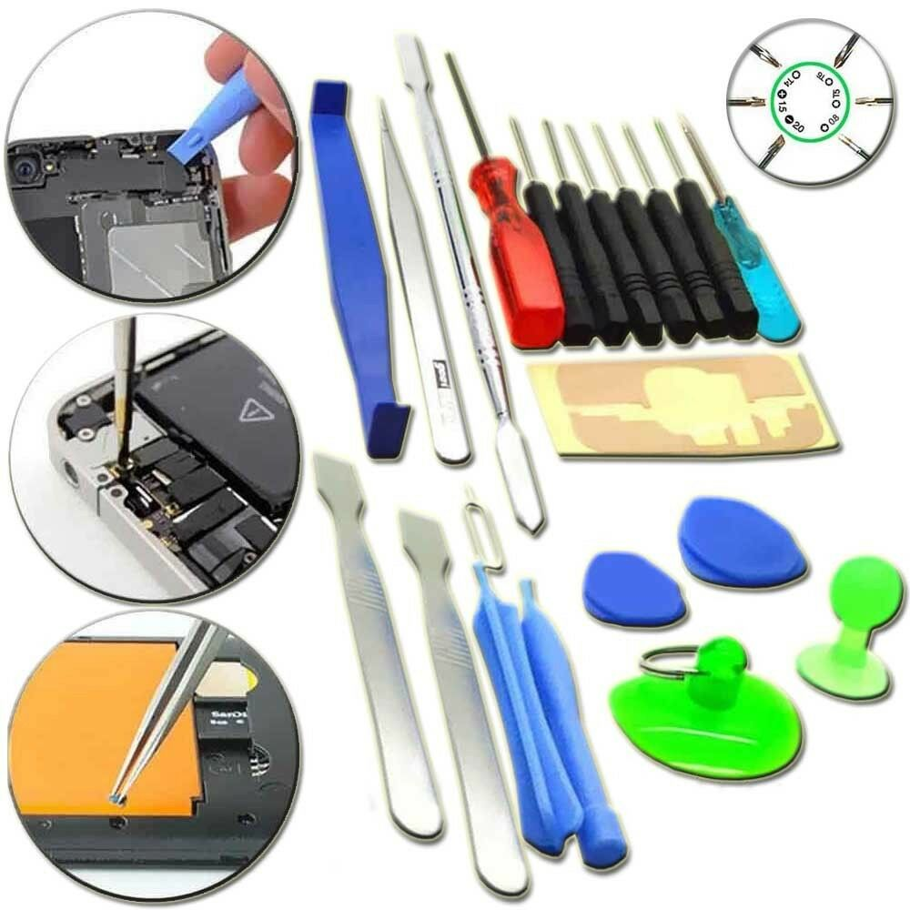 iphone repair tools 21in1 general cell phone tablet repair opening tools kit 2271
