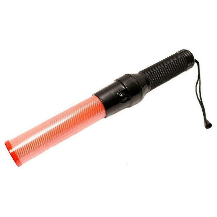 Fashionable red traffic control road safety police led for Signal wand