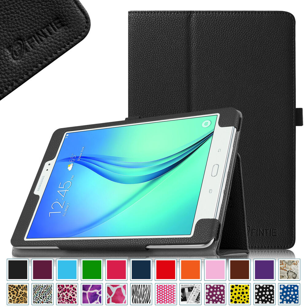 leather case cover for samsung galaxy tab a 8 0 9 7 10 1 tablet auto sleep wake ebay. Black Bedroom Furniture Sets. Home Design Ideas