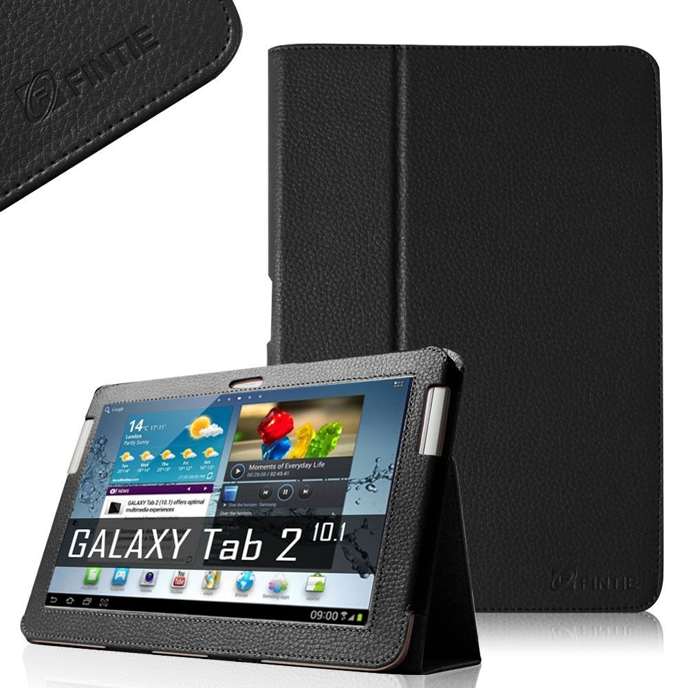 samsung galaxy tab 2 10 1 tablet leather case cover p5100. Black Bedroom Furniture Sets. Home Design Ideas