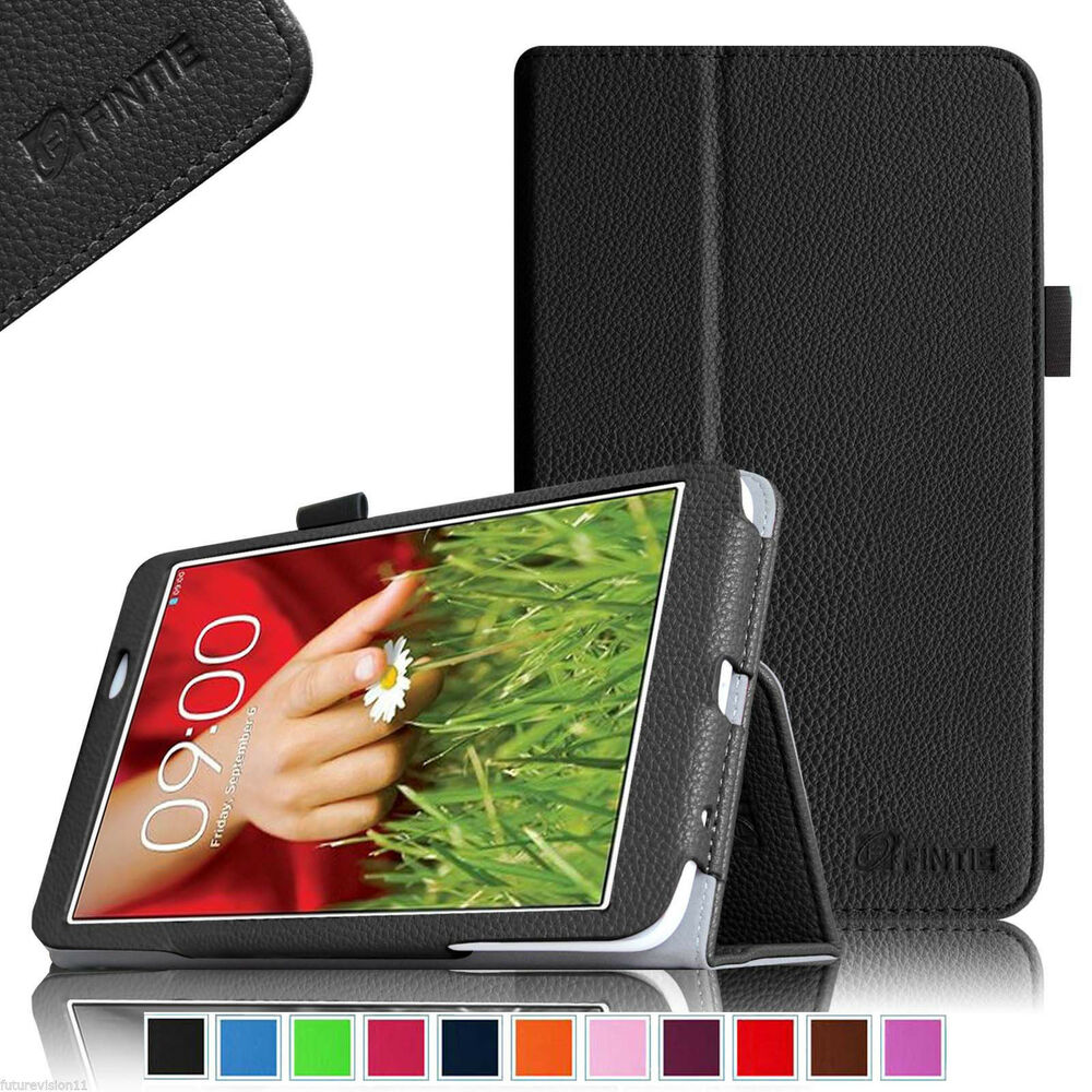For LG G PAD 8.3 Inch Tablet Case Leather Cover Wifi ...
