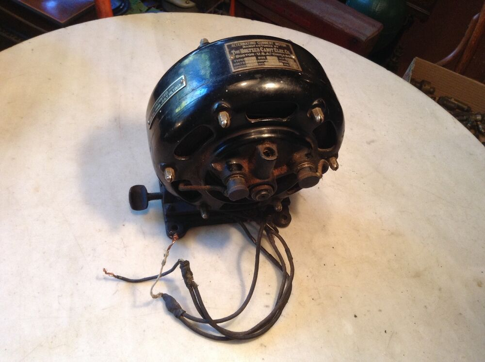 Circa 1907 seeburg holtzer cabot ac electric nickelodeon for 1 4 hp ac motor