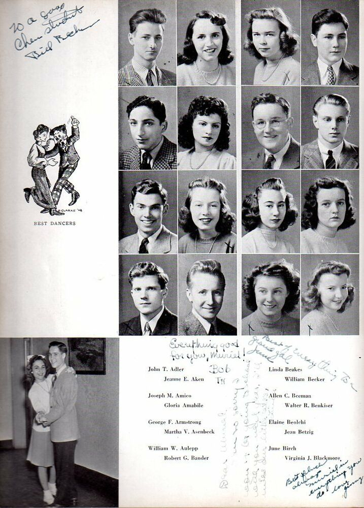 1942 Mamaroneck Ny High School Yearbook Photos History