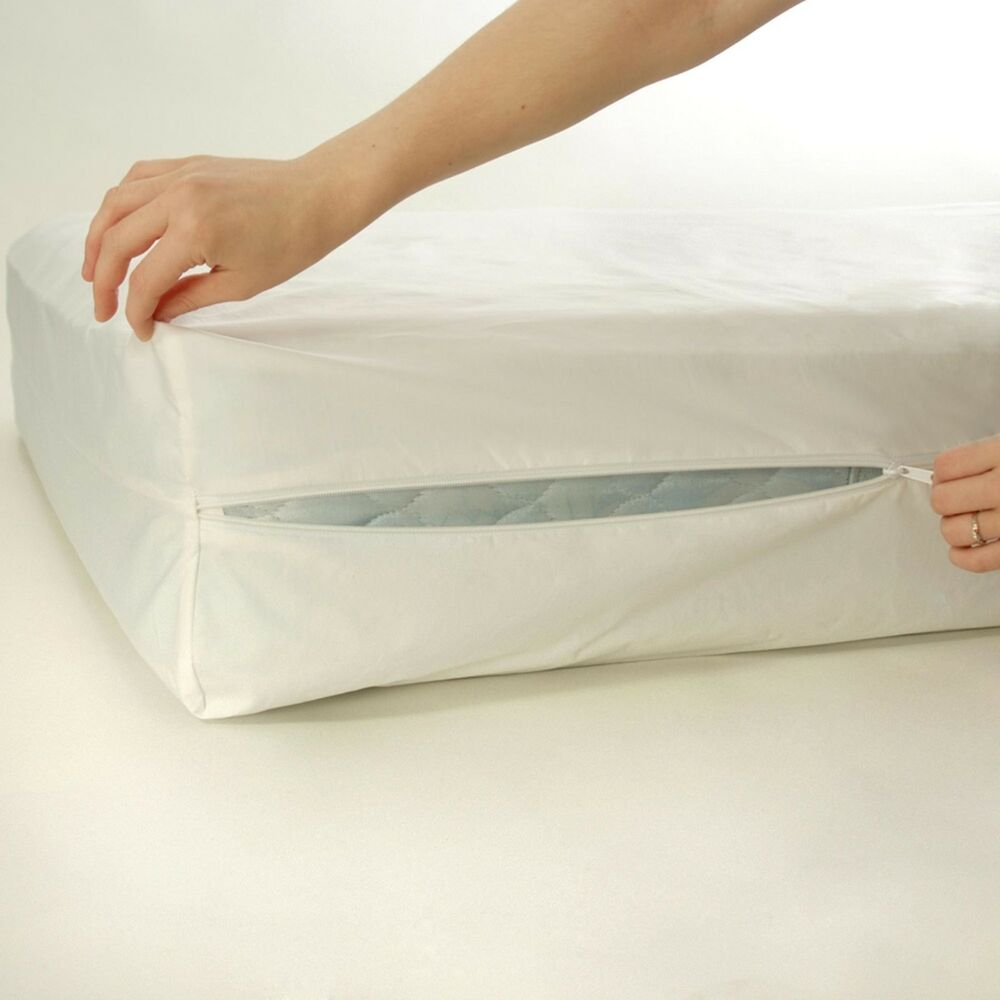 Hypoallergenic Ultra Soft Bedbug Zipper Box Spring Cover