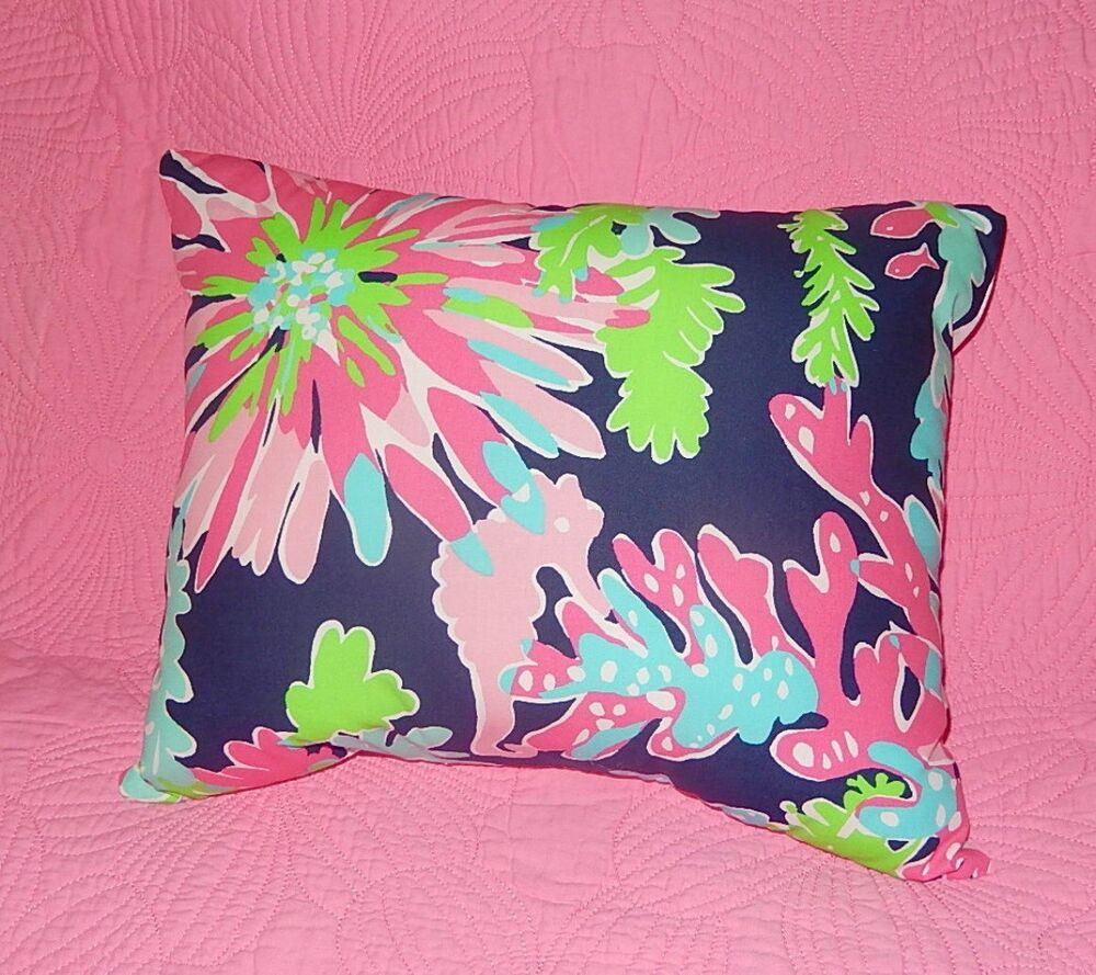 New Throw Pillow Made With Lilly Pulitzer Sippin Amp Trippin