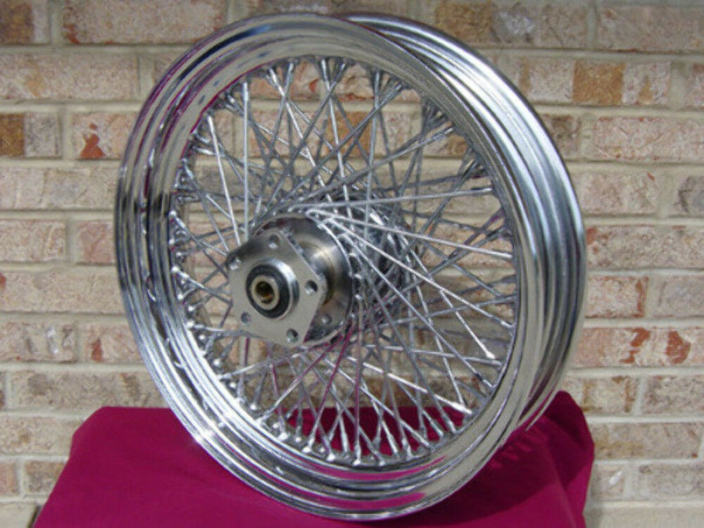 80 Spoke 16 Quot Chrome Rear Wheel For Harley Fx Dyna Fxr