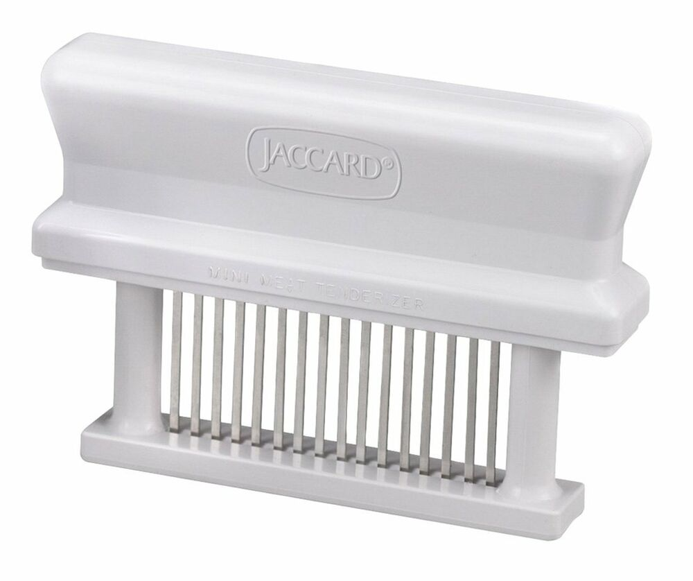jaccard 200316 original mini meat stainless steel 16 blade knife tenderizer ebay. Black Bedroom Furniture Sets. Home Design Ideas