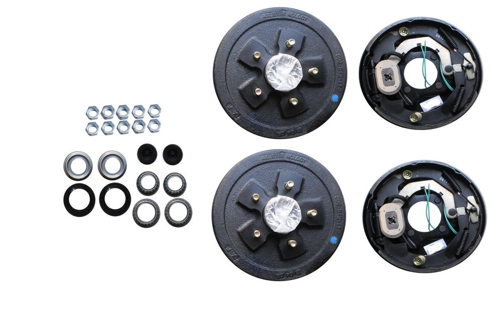 Camper Axle Parts : Add brakes to your trailer basic kit axle