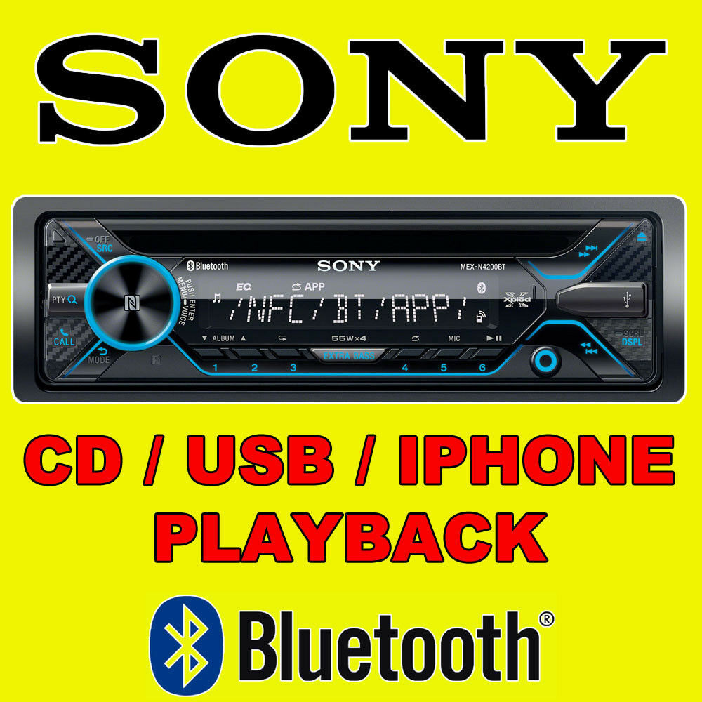 SONY CAR CD USB RADIO STEREO TUNER HEAD UNIT PLAYER