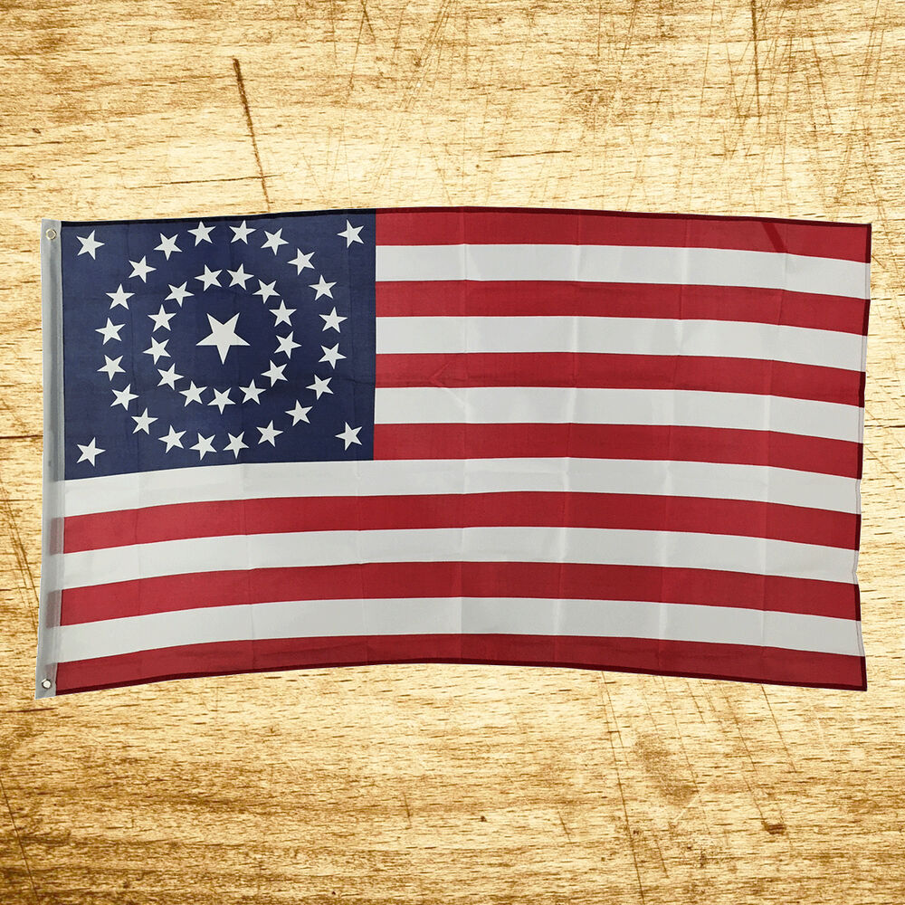 new 3x5 usa 38 stars great union stripes american flag us indoor outdoor ebay On exterior flags