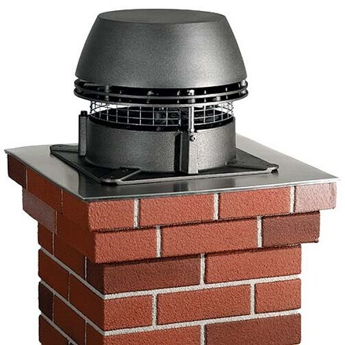 Chimney Fan Exhaust Booster Fireplace Insert Corn Wood Ebay