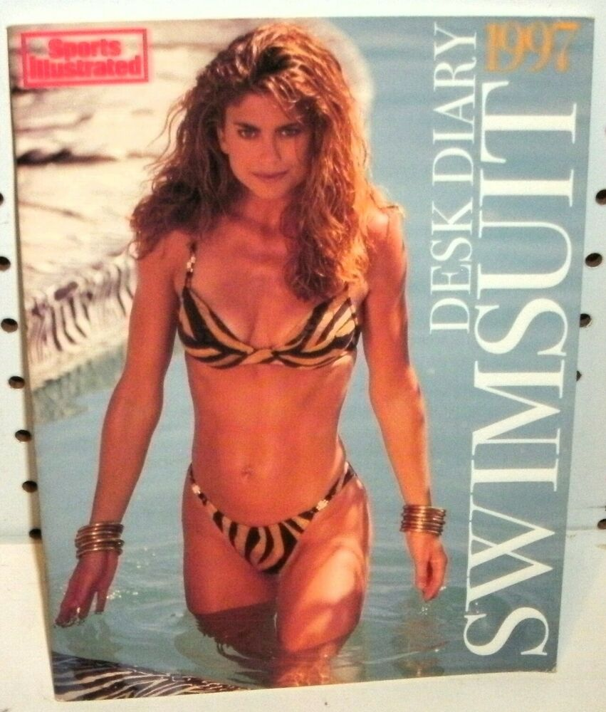 sports illustrated swimsuit desk diary 1997 14381986525