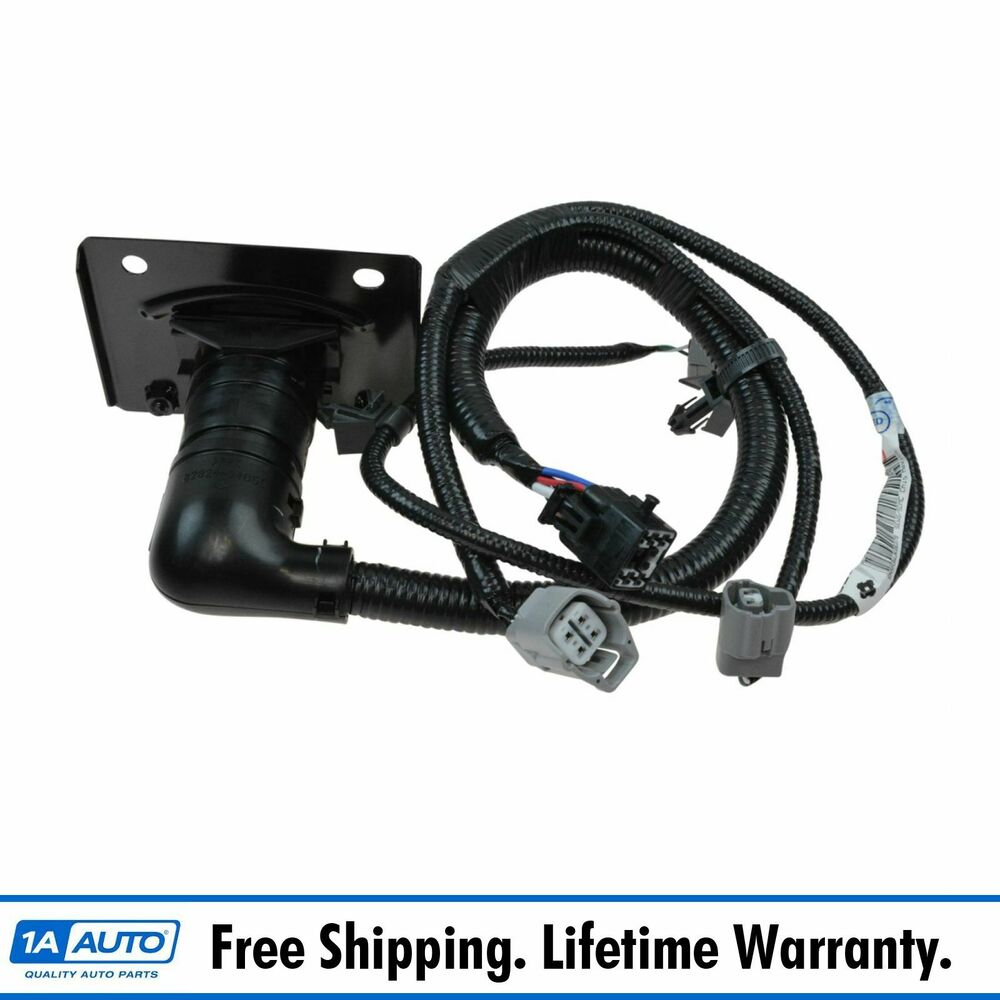 oem trailer tow hitch wiring harness 7 pin connector for ... 7 way towing wire harness ford towing harness #9