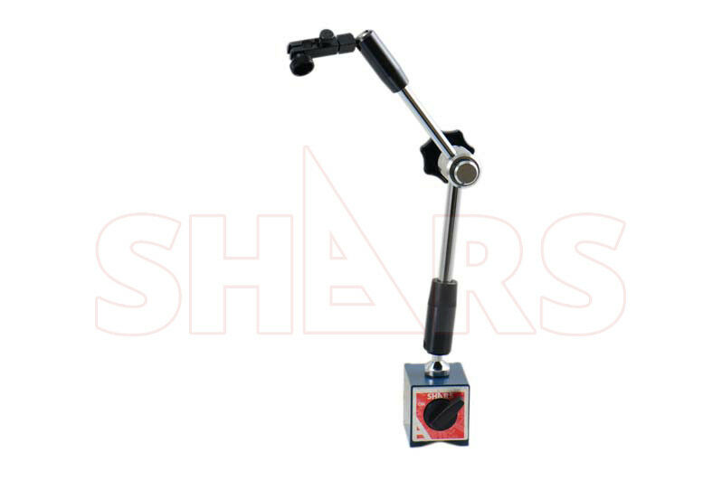 Hydraulic Arm With Magnetic Base Indicator : Shars premium hydraulic magnetic base for dial test