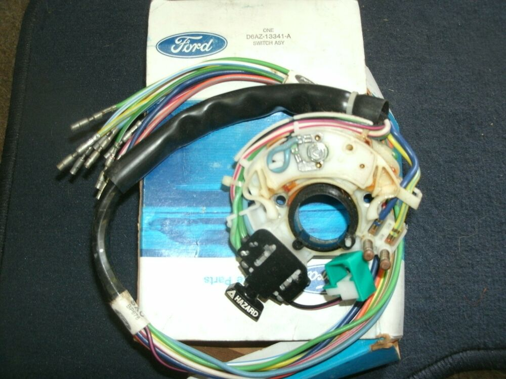 Commercial Tilt And Turn Signals : Nos ford mustang turn signal switch tilt steering ebay