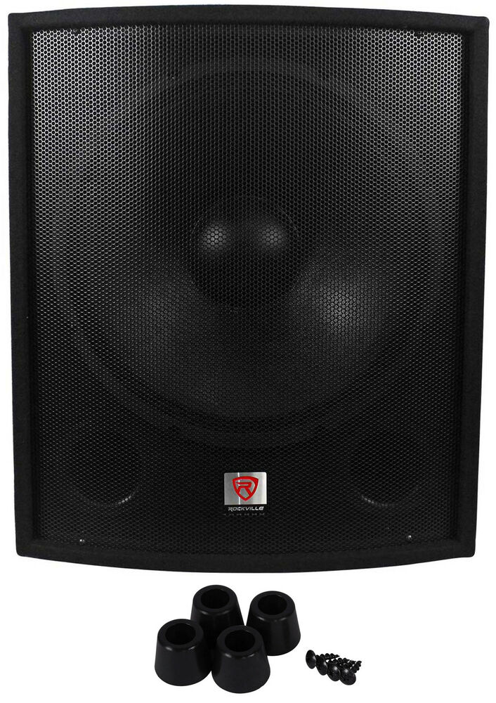 rockville sbg1188 18 1000 watt passive pro dj subwoofer. Black Bedroom Furniture Sets. Home Design Ideas