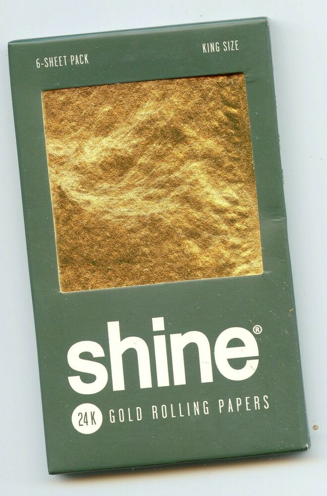 24k gold rolling papers for sale Hook up your green with some gold this season these shine 24k gold rolling papers are an excellent way to enjoy what you love with an elevated appeal mad.