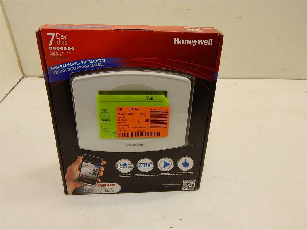 Honeywell Rth8580wf Wifi 7 Day Programmable Thermostat