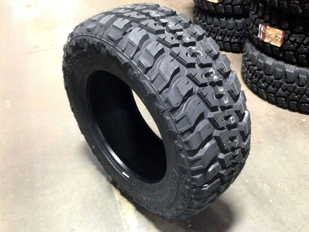 4 new federal mud tires 35125020 35 1250 20 r20 m t ebay. Black Bedroom Furniture Sets. Home Design Ideas