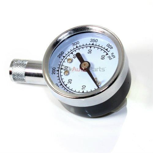 accurate dial tire air pressure gauge 5 60 psi tool for auto car truck bicycle ebay. Black Bedroom Furniture Sets. Home Design Ideas