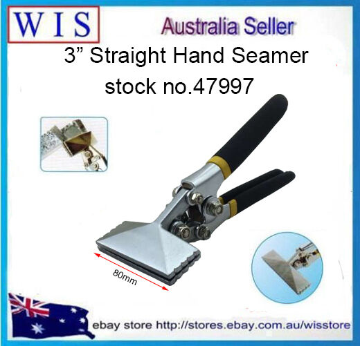 3 Inch Straight Jaw Sheet Metal Seamer Hand Seamer For