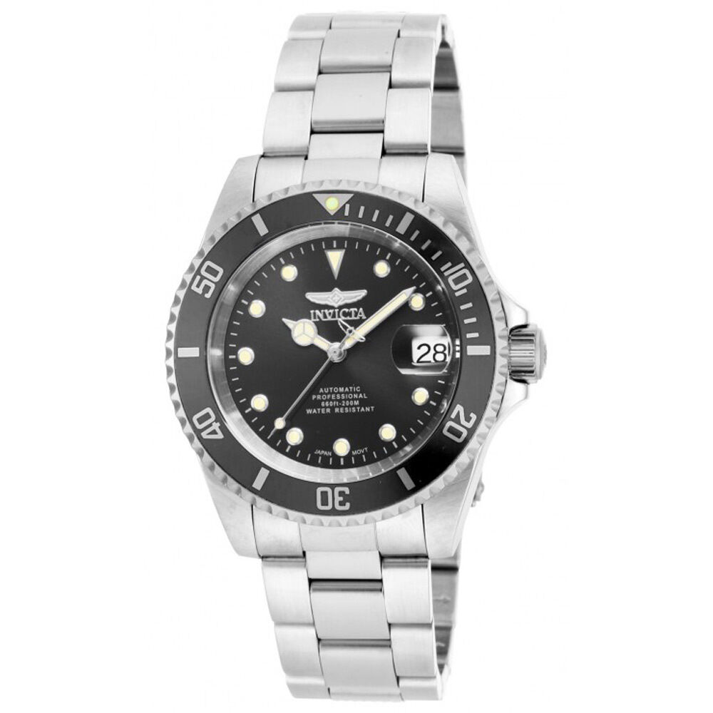 Invicta 17044 mens pro diver stainless steel automatic dive watch ebay for Watches on ebay