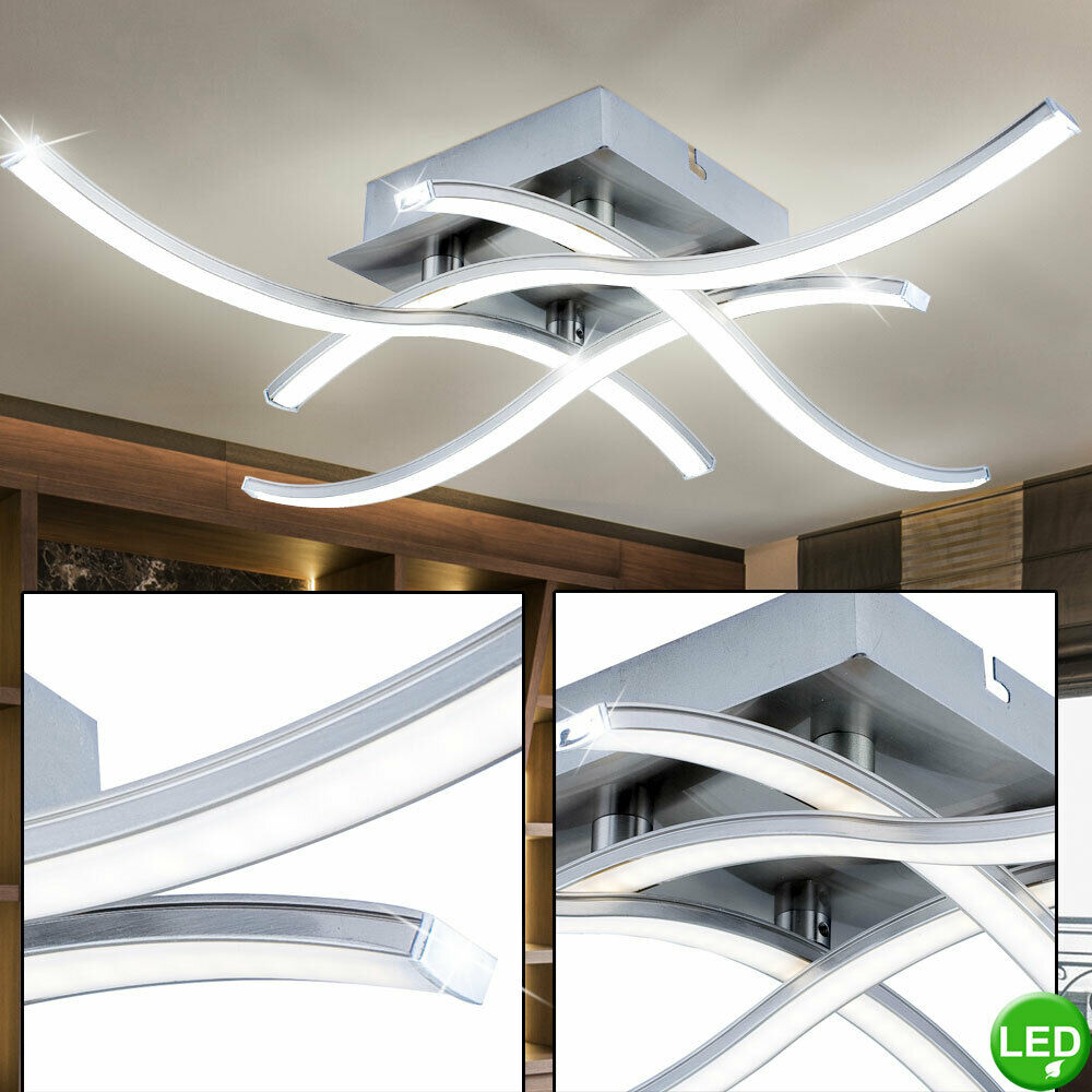design smd led 16 w decken cafe beleuchtung leuchtarm verstellbar eek a lampe ebay. Black Bedroom Furniture Sets. Home Design Ideas