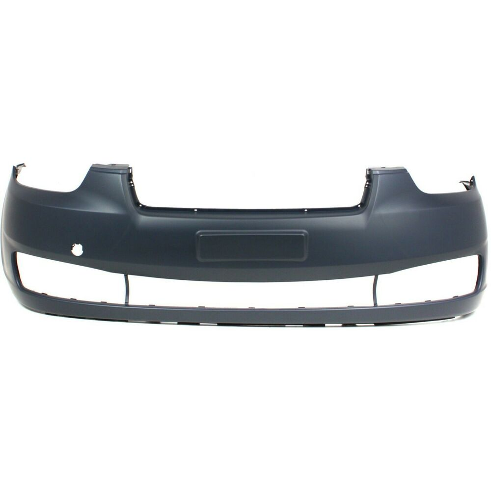 Service Manual 2006 Hyundai Accent Front Bumper Cover 2006 2011 Hyundai Accent 4dr Sedan