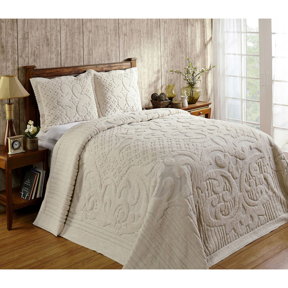 Choose from coverlets and silk matelasse, coverlets, and bed sets. High quality bed sets provide your bedroom decor with luxury and classic elegance while providing soft, lightweight warmth for a comfortable, cozy retreat.