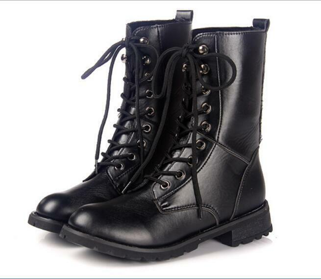 Womens crispen vintage leather mid boot your place