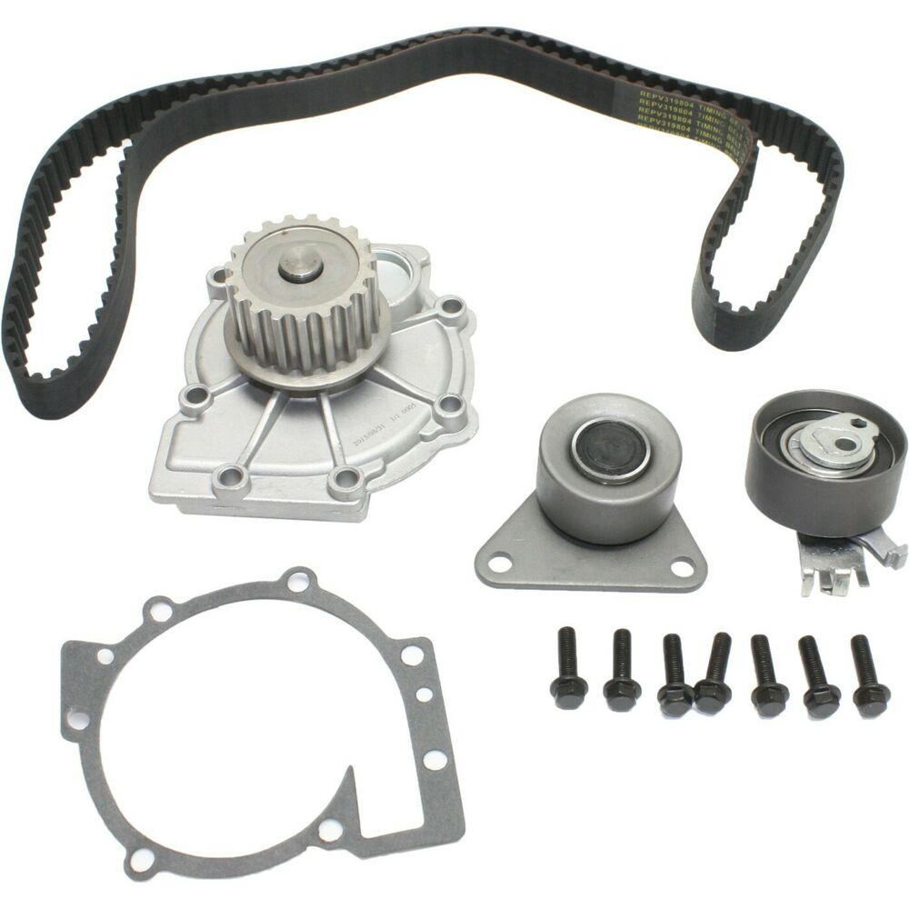 Timing belt water pump kit for 98 10 volvo c30 s40 s80 s60 xc90 s70 dohc turbo ebay