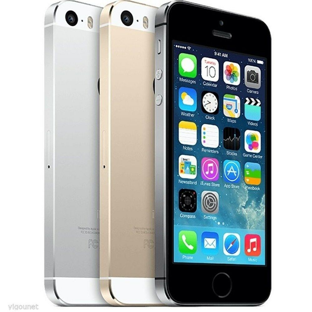 apple iphone 5s lte 4g 16gb 32gb 64gb ios smartphone handy. Black Bedroom Furniture Sets. Home Design Ideas