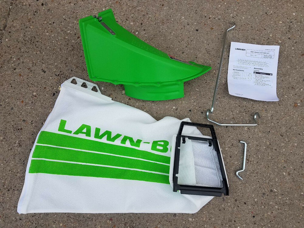 89817 Lawnboy Side Bag Grass Catcher Chute Rod Kit Oem