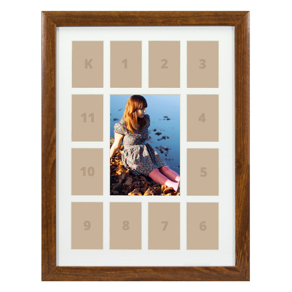 Craig Frames 12x16 Quot Brown Picture Frame White Collage