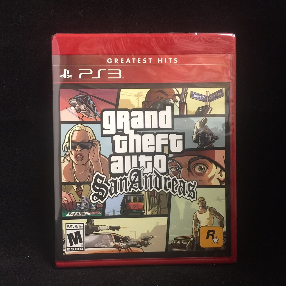 gta grand theft auto san andreas playstation 3 brand. Black Bedroom Furniture Sets. Home Design Ideas