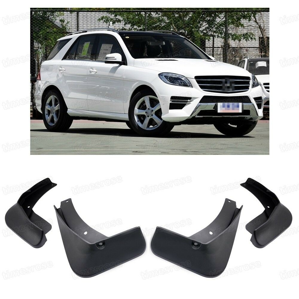 4x car mud flaps splash guard fender mudguard for 2012 for Mercedes benz guard for sale