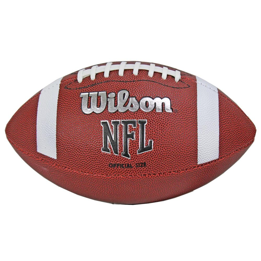 wilson tds nfl official size 9 rubber cover american