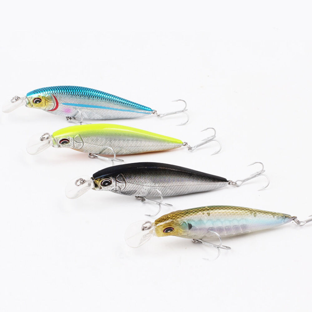 Sea fishing fish lure baits crank casting trolling lures for Fishing lures ebay