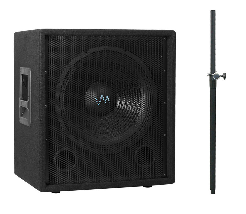 vm audio vas12sub 12 1000 watt passive sub dj subwoofer. Black Bedroom Furniture Sets. Home Design Ideas