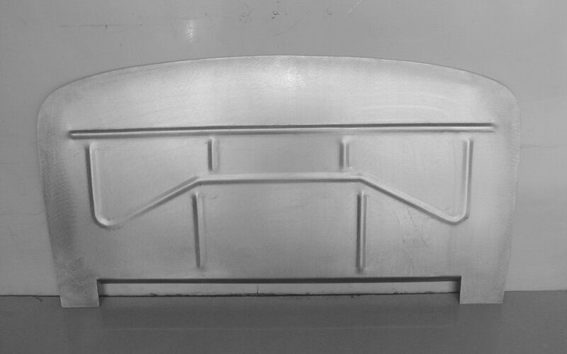 Plymouth Passenger Car Smooth Firewall    35 36 1935