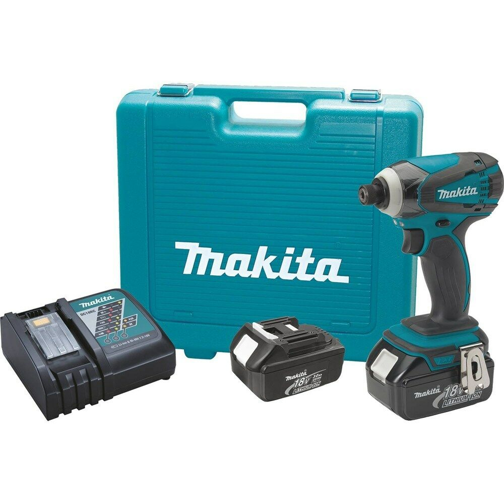 makita lxdt04x1 18v lxt lithium ion cordless impact driver. Black Bedroom Furniture Sets. Home Design Ideas