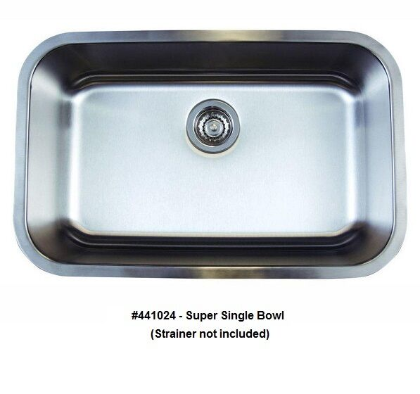 Undermount Stainless Steel Kitchen Sink Single
