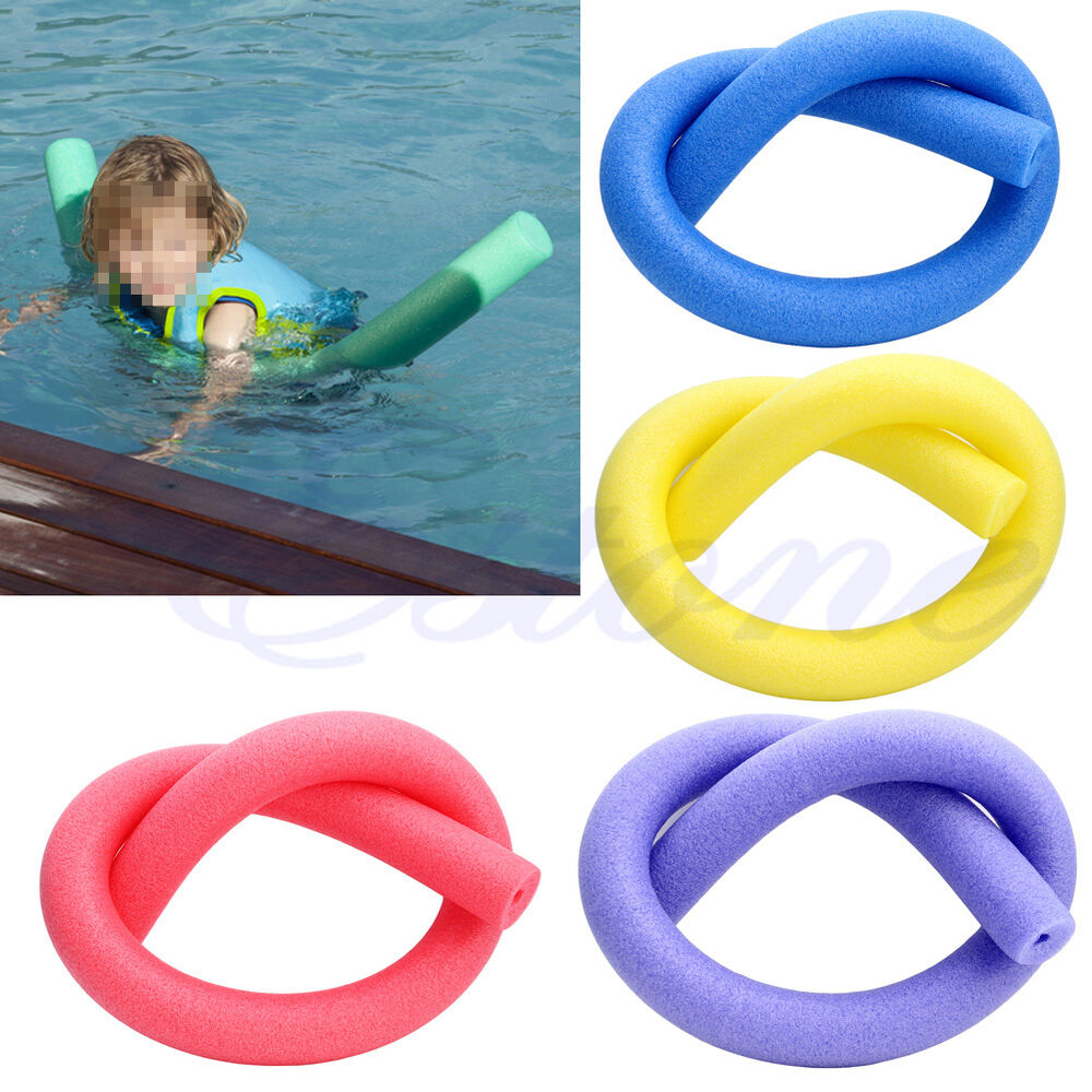 New Swimming Pool Noodle Water Float Aid Woggle Noodles Hollow First Class Post Ebay