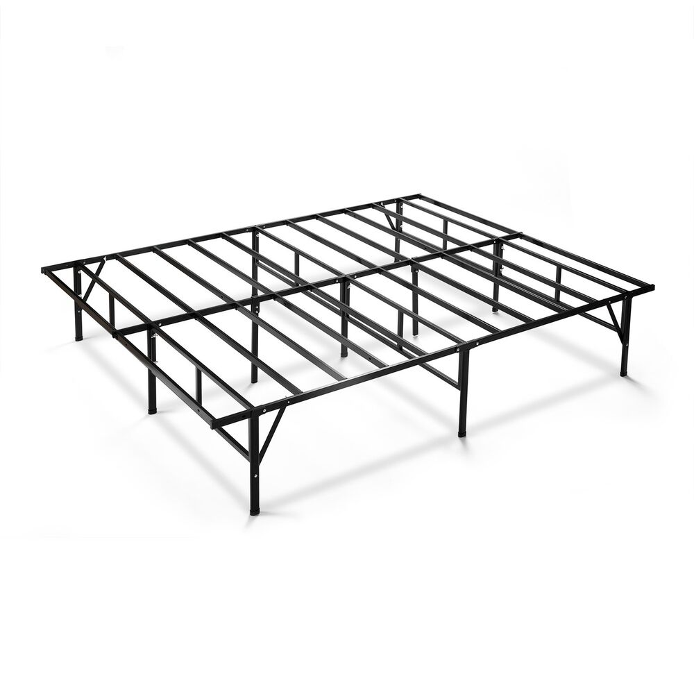 priage 14 inch cal king bed frame ebay. Black Bedroom Furniture Sets. Home Design Ideas