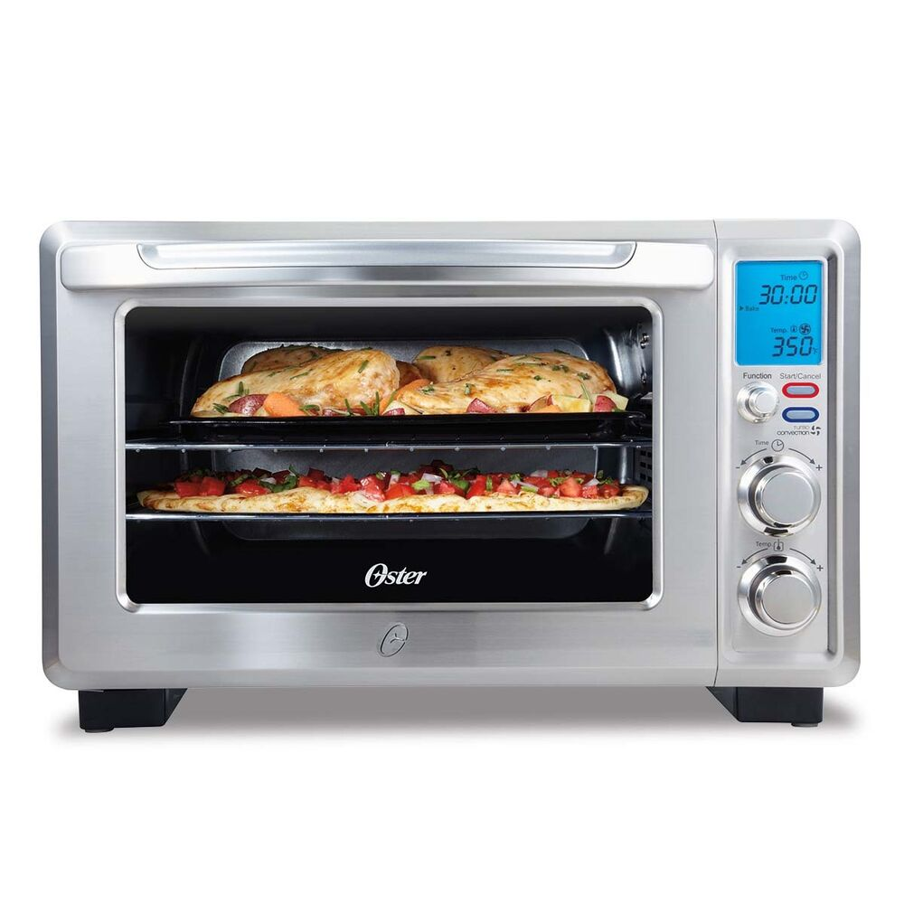 Oster Convection 6 Slice Digital Toaster Oven Stainless