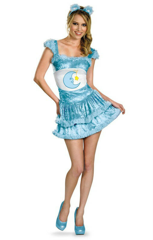SEXY CARE BEARS BEDTIME BEAR DRESS UP ADULT COSTUME SIZE S ...