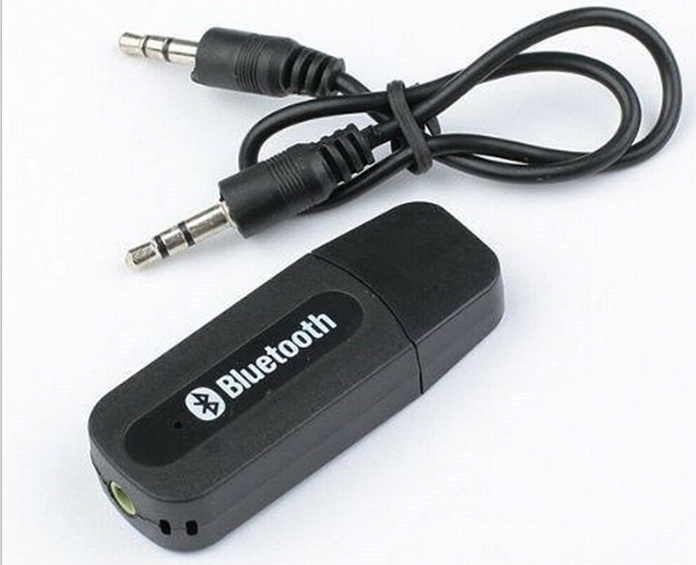 usb wireless bluetooth aux music audio stereo receiver amp dongle adapter ebay. Black Bedroom Furniture Sets. Home Design Ideas