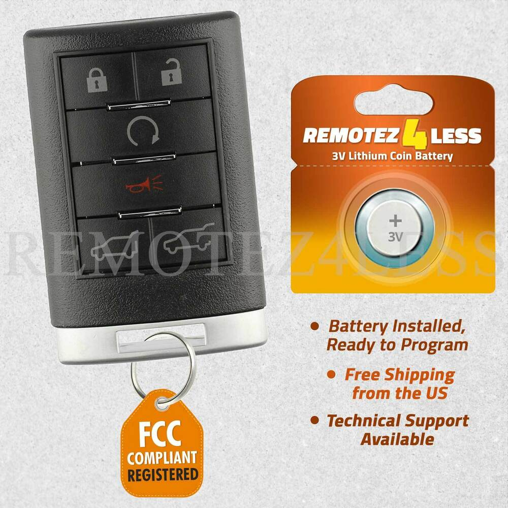 Cadillac Cts Remote Keyless Entry Activated Remote Start Kit Starter